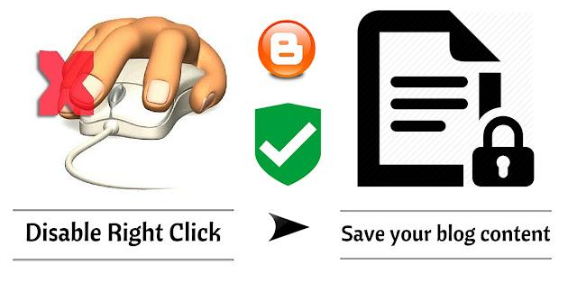 Protect Blogger content | Best blogger content ideas