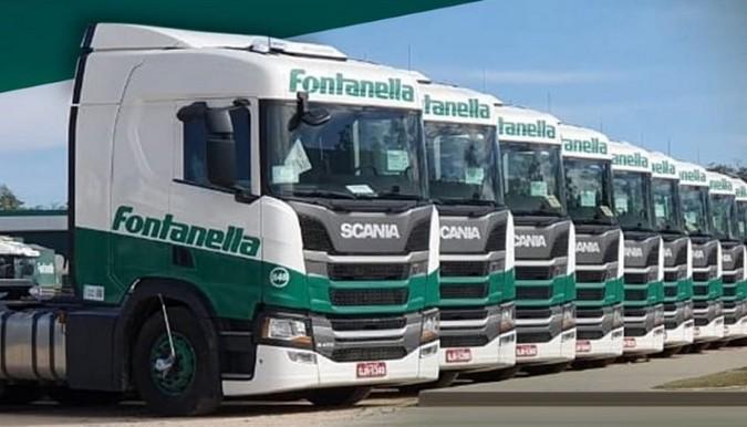 Fontanella Transportes abre novas vagas para motoristas carreteiros