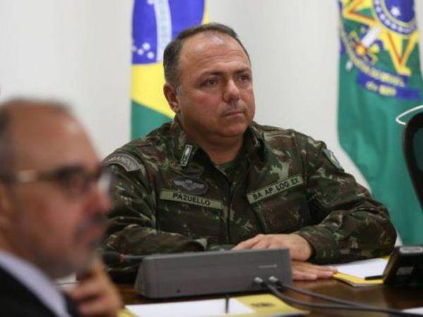 ministro interino da Saúde, general Eduardo Pazuello