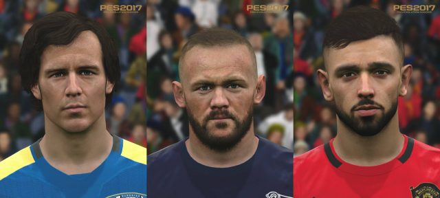 PES 2017 Beckenbauer, Rooney and Fernandes by Love01010100