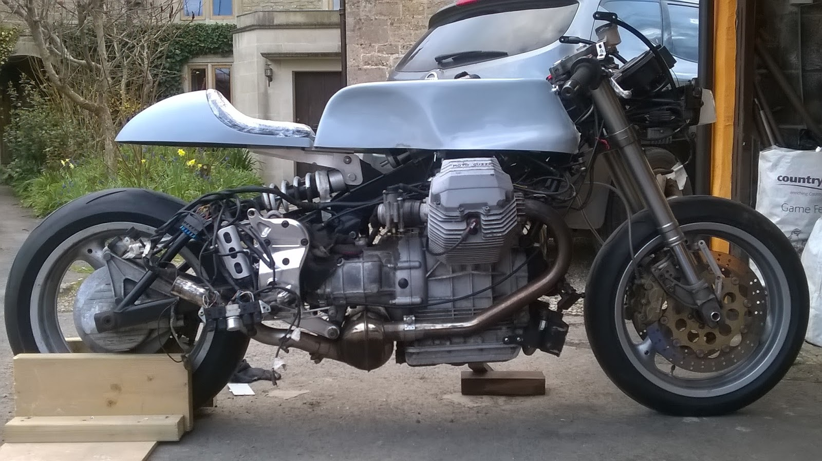 cafe racer project I'm not sure if you guys are aware of this or no, but v12 is too busy with this thing  that he call's the cafe racer project  anyways after a long.