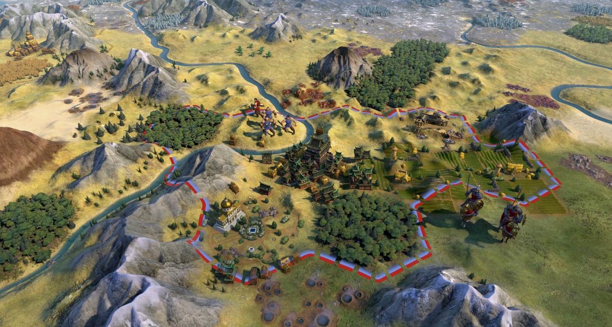 Environment Skin: Sid Meier's Civilization V