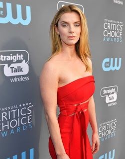 Picture of Cosmo's wife Betty Gilpin