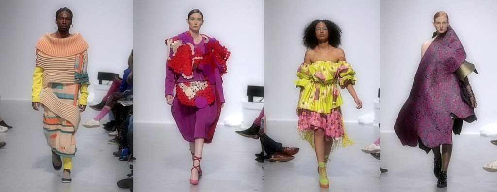 The School of Fashion graduation fashion show attracts almost 2,000 attendees
