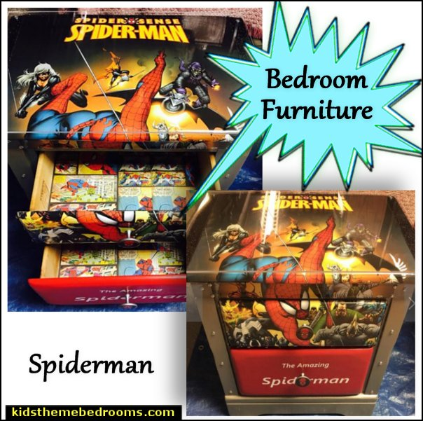 Spiderman - spiderman decor - super hero decor - kids room decor - super heros - kids furniture - childrens furniture - boys room decor