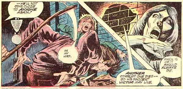 Werewolf by Night #11, scythe