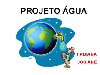 projeto agua
