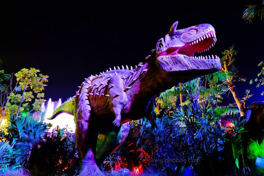 My Time Capsule Indonesia Malang Night Paradise Lampion Dinosaurus Park