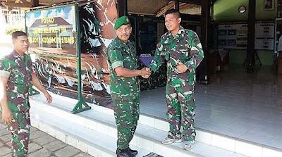 Pasi Bakti TNI Korem Kunjungi TMMD Rempoah