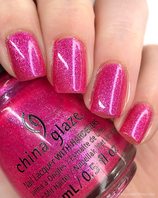 China Glaze Pink-in-Poppy 25 Sweetpeas