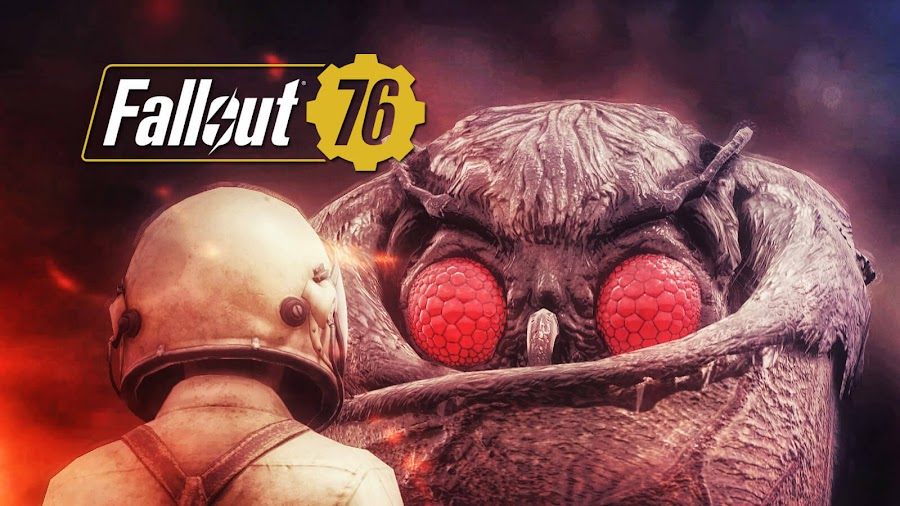 fallout 76 pets dogs companion mothman online multiplayer action role-playing game bethesda softworks