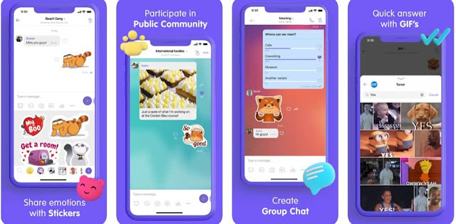 تطبيق فايبر Viber اول تطبيق بديل للواتساب مجاني