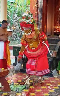muthappan theyyam image