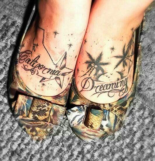 Best California Tattoo Designs