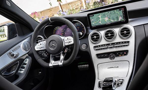 Interior Mercedes AMG C 63 S