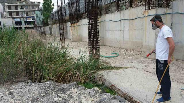Καθημερινός ο αγώνας στο Δήμο Ναυπλιέων κατά των κουνουπιών