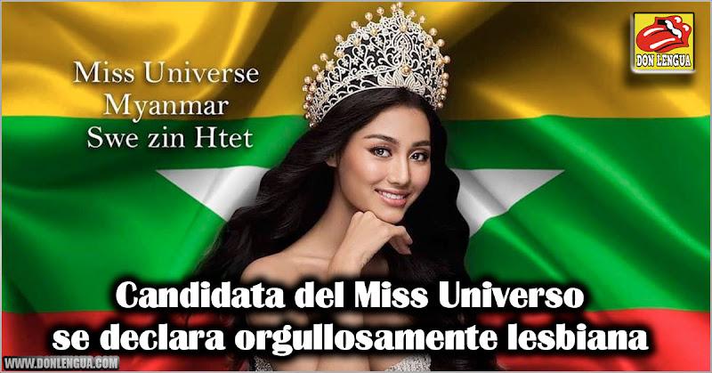 Candidata del Miss Universo se declara orgullosamente lesbiana