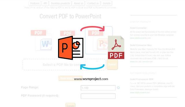 Cara convert pdf ke ppt-powerpoint dengan mudah