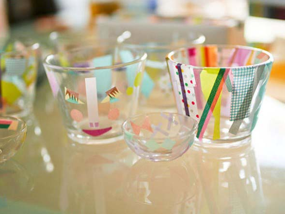 BEAUTIFUL CRAFTS IDEAS WITH GLASSES