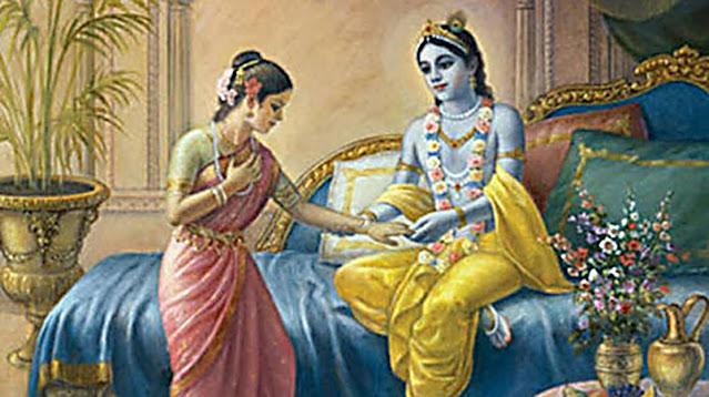Rumini and Krishna