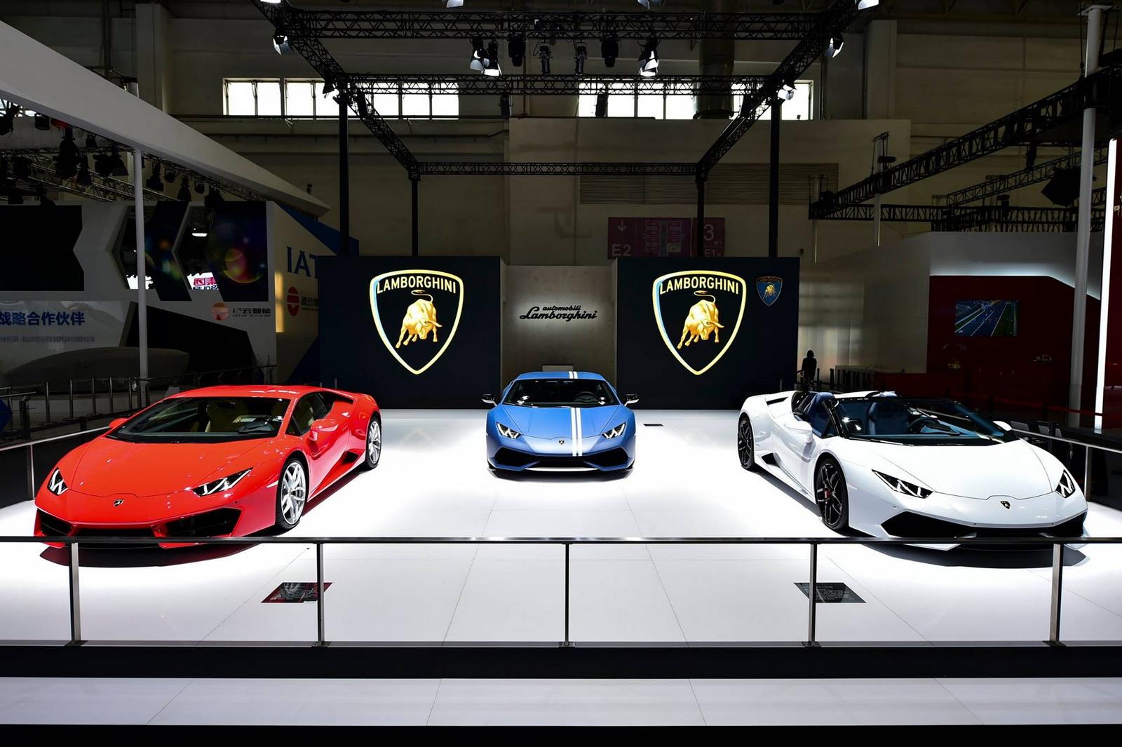 Thị trường Trung Quốc là thị trường cốt lõi của Lamborghini trong những năm gần đây