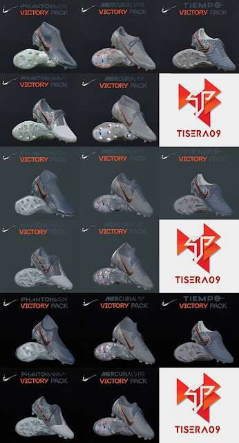 PES 2019 / PES 2018 Nike Victory Pack 2019 by Tisera09