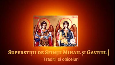 traditii obiceiuri Mihai si Gavrila