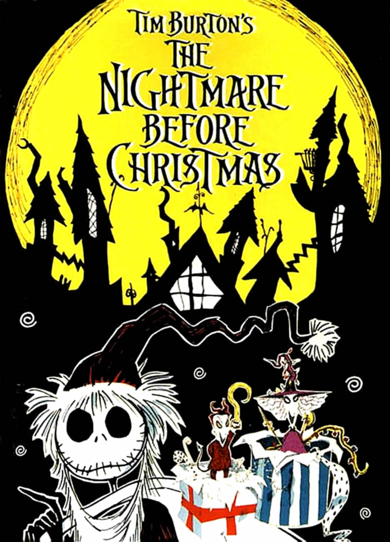 The Geeky Nerfherder: Movie Poster Art: The Nightmare Before ...