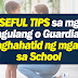 USEFUL Tips to Parents who Send their Kids to School
