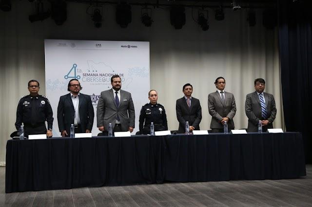 POLICÍA FEDERAL REALIZA LA CUARTA EDICIÓN DE LA SEMANA NACIONAL DE CIBERSEGURIDAD