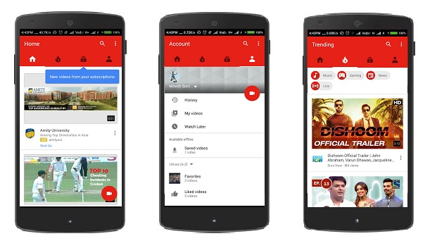 YouTube V11.21.53 APK Update With New Attractive Design & new Editing Tool