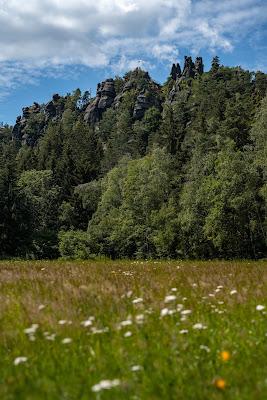 Oberlausitzer Bergweg | Etappe von Waltersdorf nach Oybin | Wandern im Zittauer Gebirge | Sachsen 12