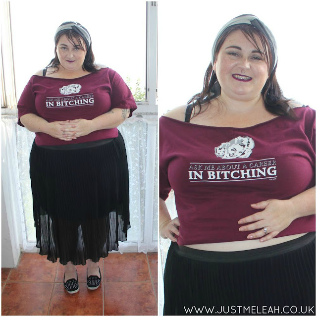 PLUS SIZE CLOTHING SHEER SKIRT YOURS CLOTHING