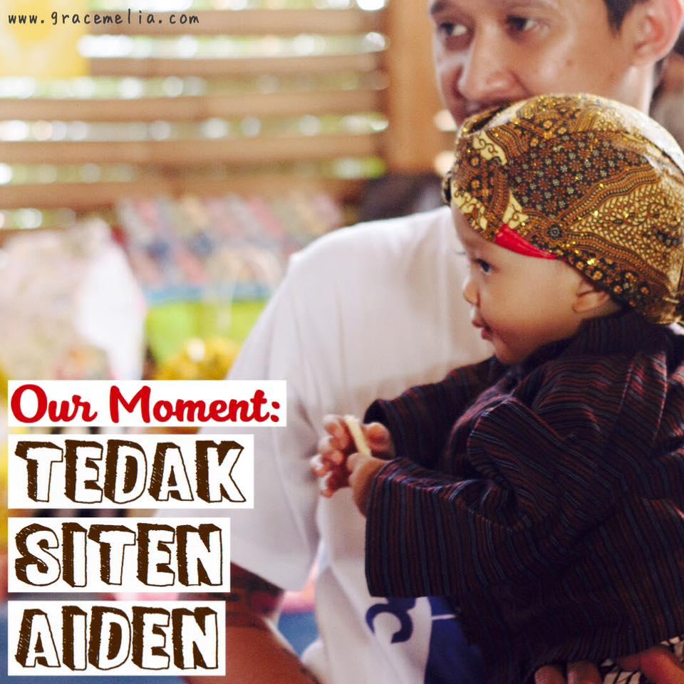 Acara Tedak Siten Anak Gracemelia Com Parenting Blogger Indonesia