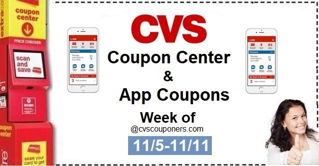 http://www.cvscouponers.com/2017/11/cvs-coupon-center-app-coupons-week-of.html