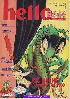 Hello-Bébé, numéro 31, 1991, Ric Hochet : Le crime de l'An 2000
