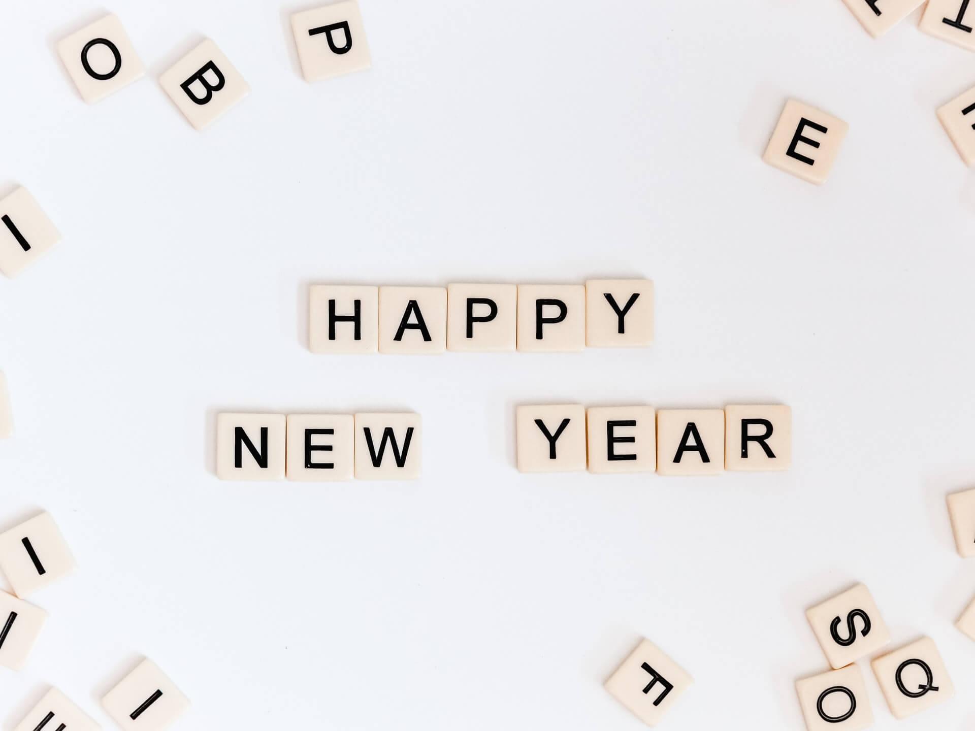 Happy New Year Wishing Photo