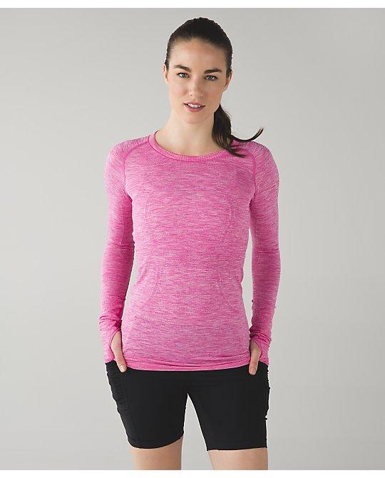 lululemon  pink-paradise-swiftly-ls