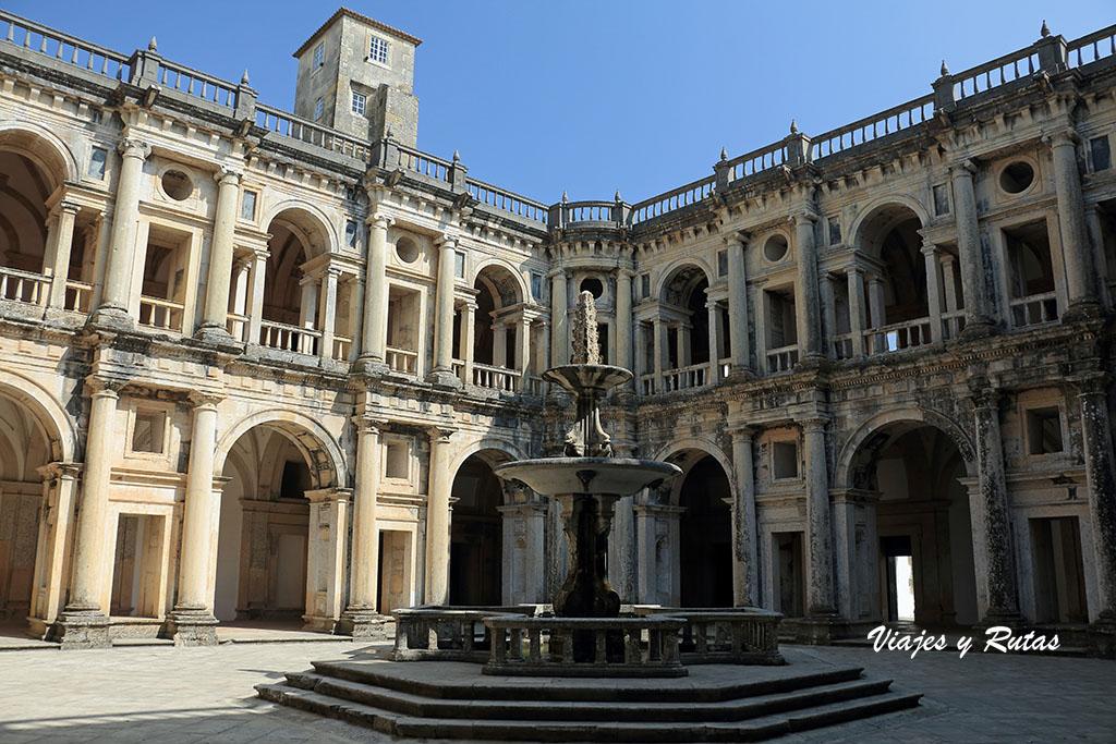 Claustro principal del Convento de Tomar