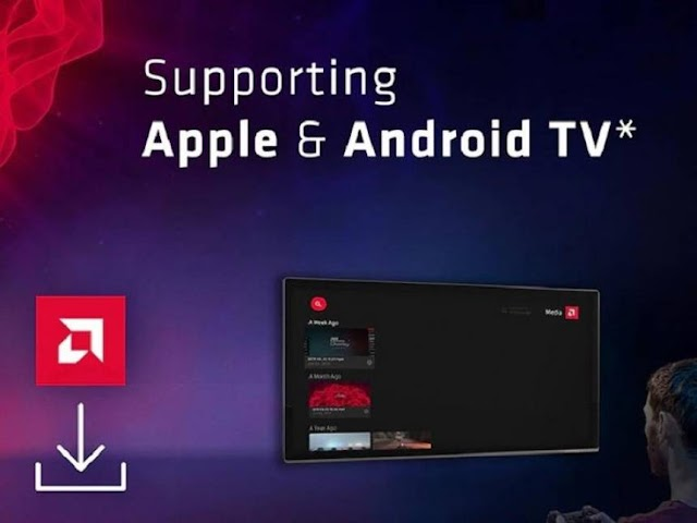 AMD Link allows transmission of PC games for Android TV and Apple TV
