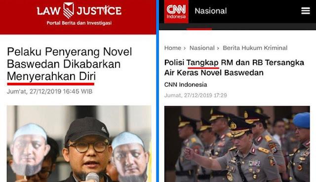 """Tim Advokasi Novel Baswedan Ungkap """"Kejanggalan"""""""
