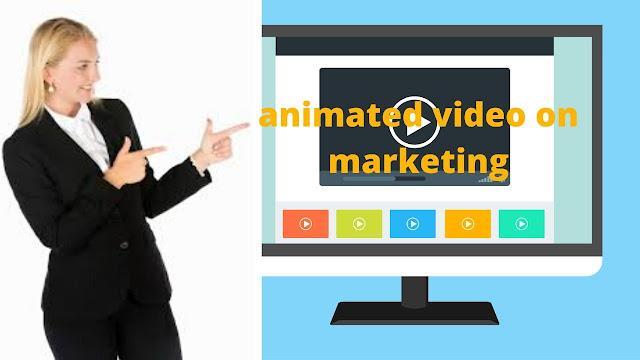 How do you make an animated video on marketing