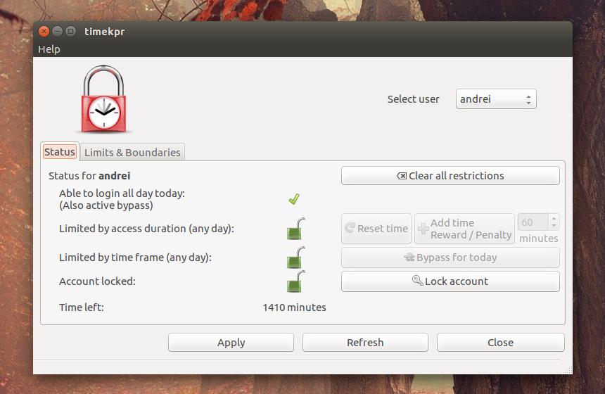cannot access application menu ubuntu