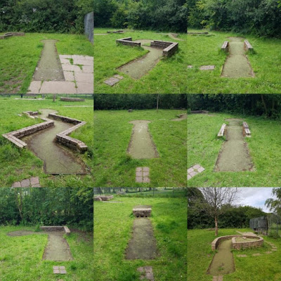 Crazy Golf course at Wythenshawe Park, Manchester