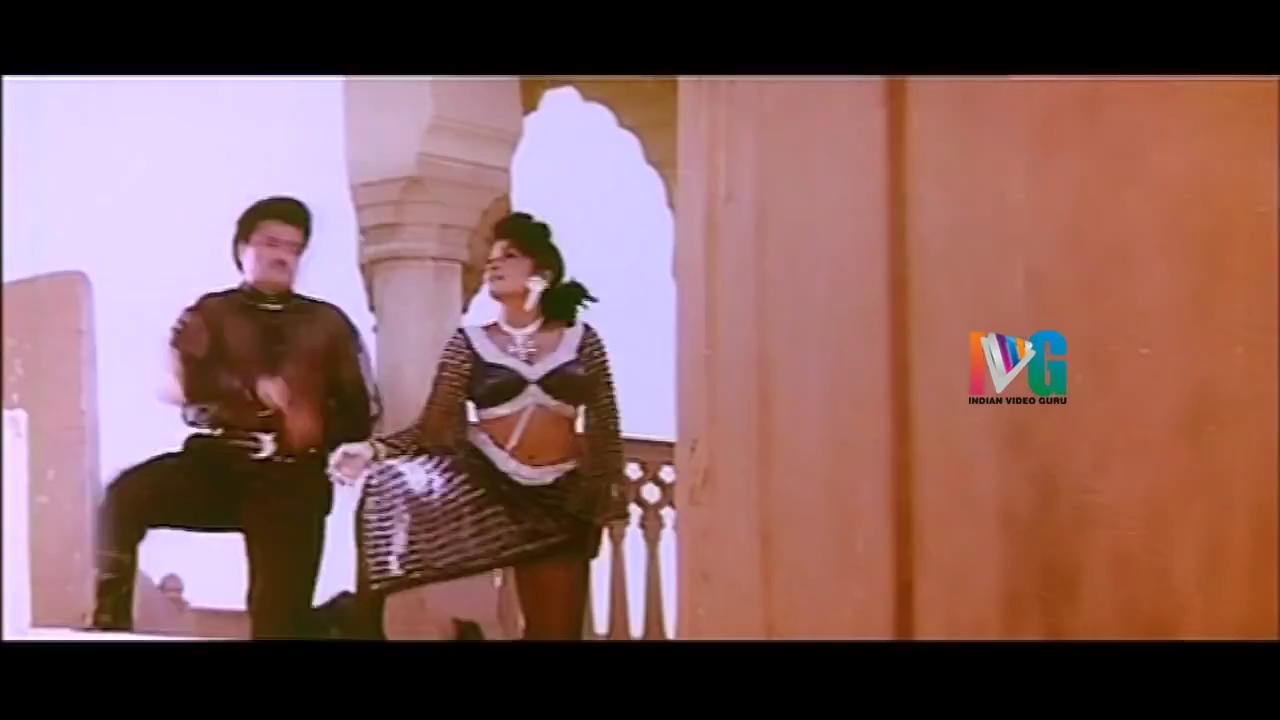 Indian Hot Actress Ramya Krishna Spicy Hot Sexy Navel Scene-1697