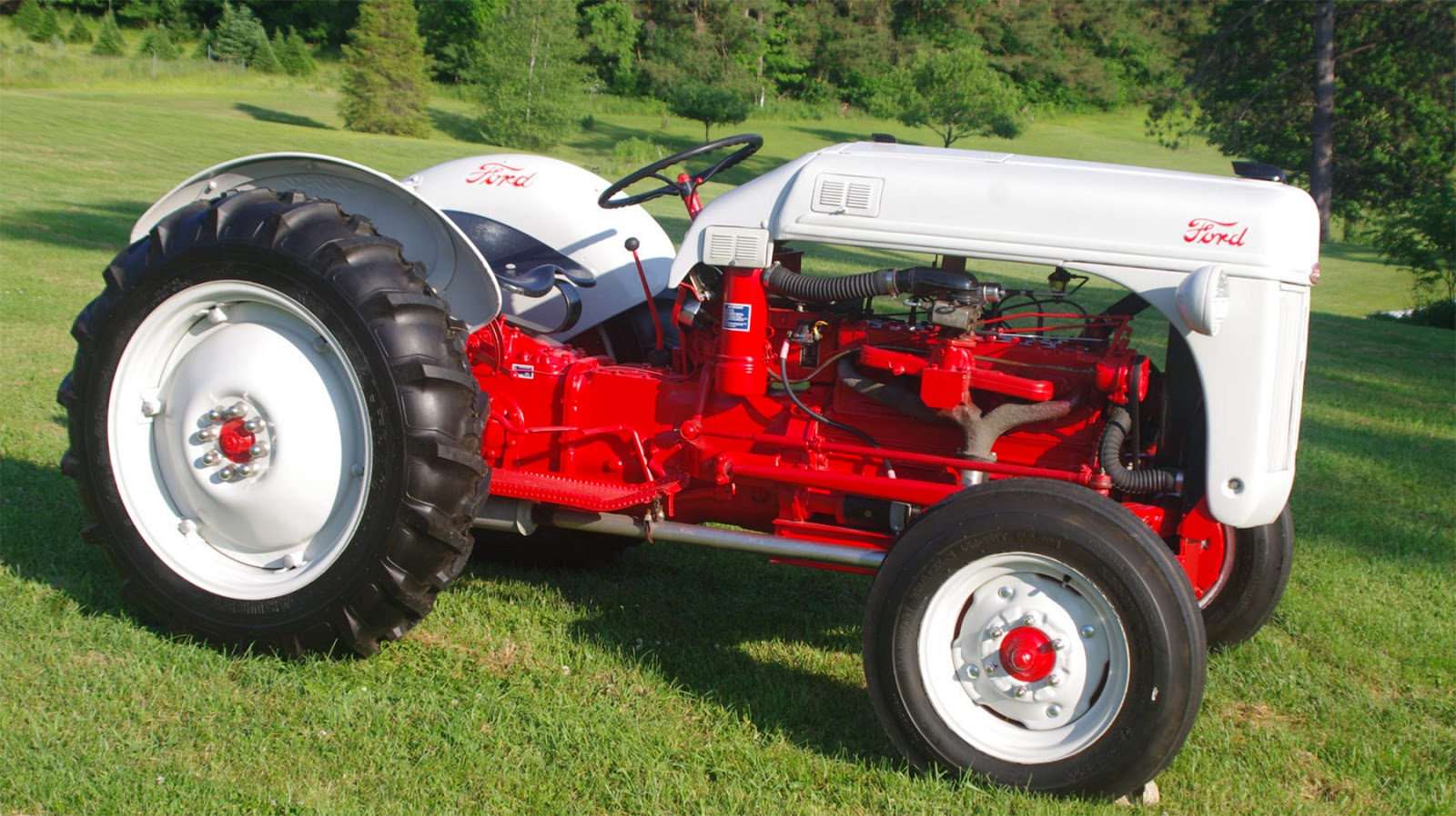 Garage Tech With Randy Rundle 2018 1950 8n Ford Tractor Wiring Diagram 6 Volt Besides 12 In 1948 Owners Were Looking For More Horsepower A Standard Was 30 And Could Pull Only Two Bottom Plow