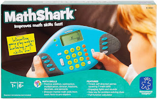 MathShark Electronic Math Game