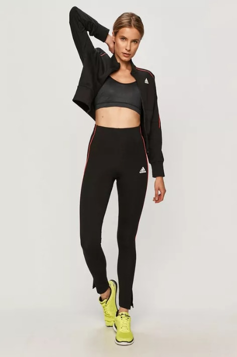 adidas Performance - Trening dama slim-fit negru original