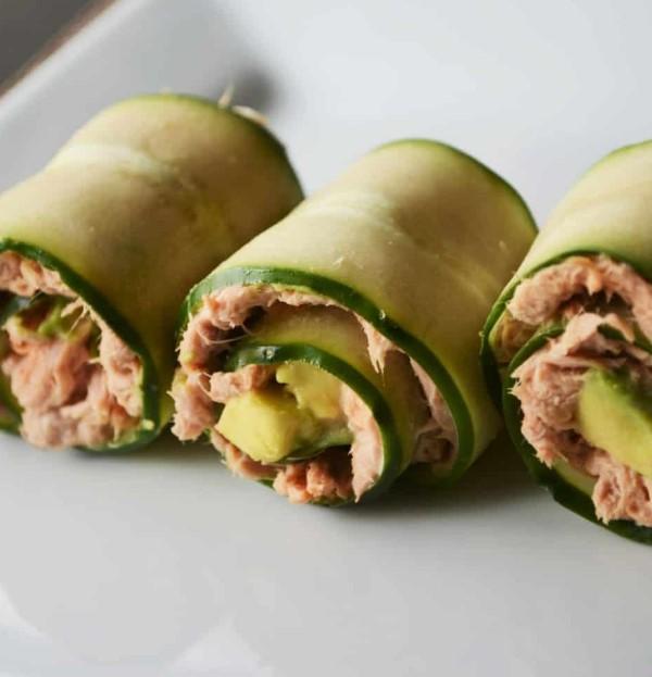 5 Minute Spicy Tuna Rolls