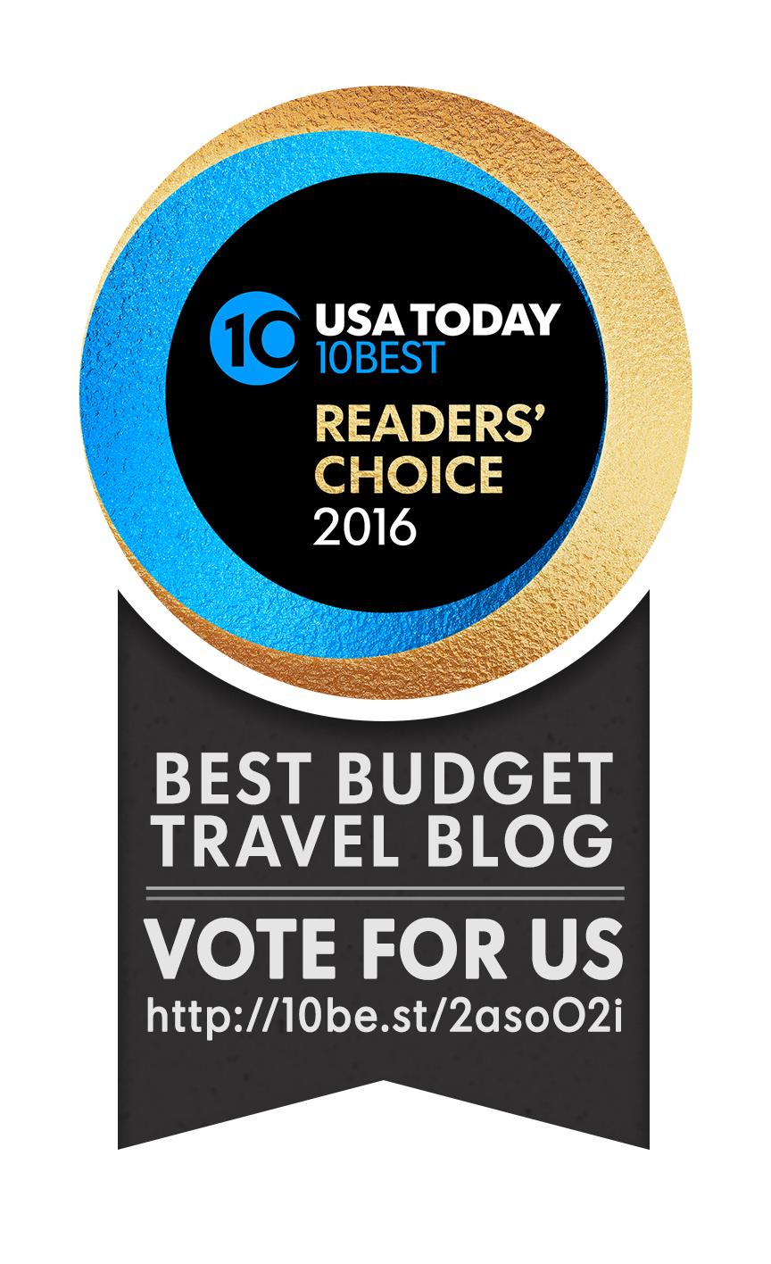 Vote for best budget travel blog